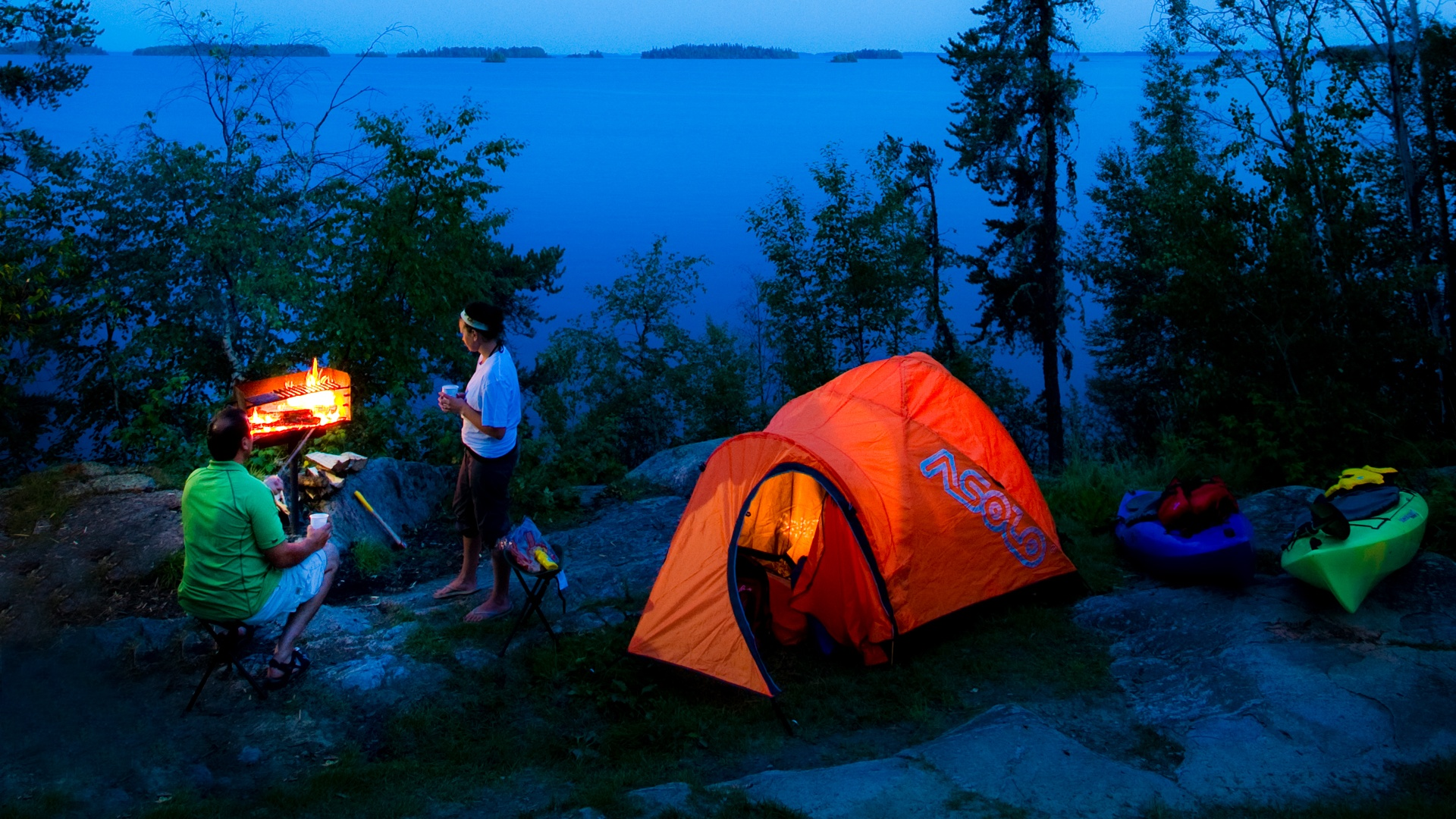 You Can Camp In The Great Outdoors